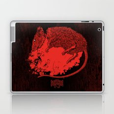 Decapitated by dishwasher III (red) Laptop & iPad Skin