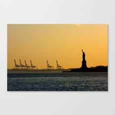 South Ferry Sunset Canvas Print