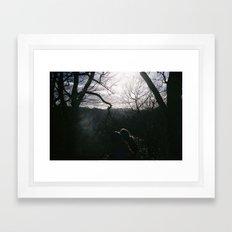 Magical woods Framed Art Print
