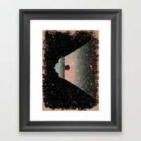 Star Bird Framed Art Print