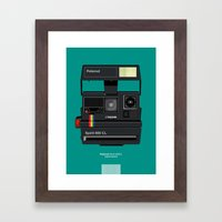 Polaroid II Framed Art Print