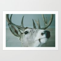 mounted Art Print