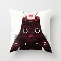 B U L D G E  Throw Pillow