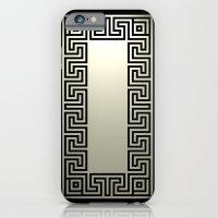 iPhone & iPod Case featuring Greek Key black by ravynka