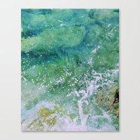Waves pt. 3 Canvas Print