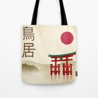 Torii Gate - Painting Tote Bag
