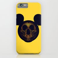iPhone & iPod Case featuring Mickey by nicebleed