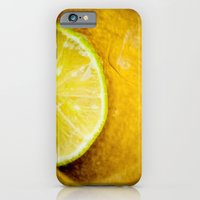iPhone & iPod Case featuring Lemon by Ginta Spate