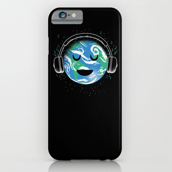 The whole planet loves music iPhone & iPod Case