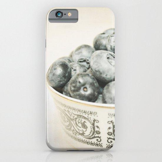 Blueberry Bowl iPhone & iPod Case