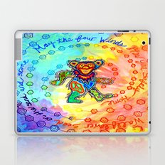 May the Four Winds Blow You Safely Home Laptop & iPad Skin