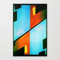 #5 (35mm Multiple Exposu… Canvas Print