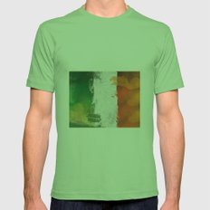 Ireland Mens Fitted Tee Grass SMALL