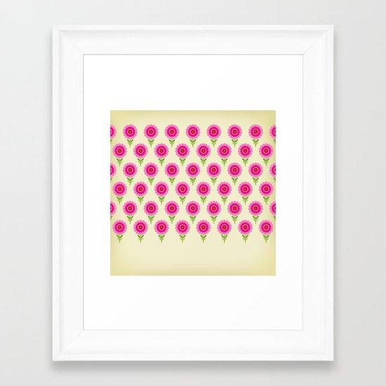 pattern05 Framed Art Print