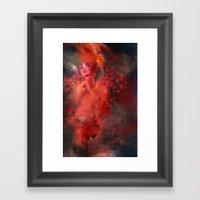 Red 2 Framed Art Print