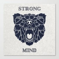 Strong Mind Canvas Print