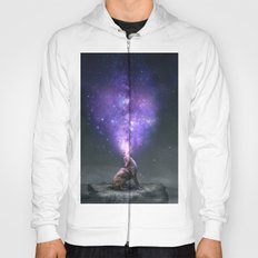 All Things Share the Same Breath (Coyote Galaxy) Hoody