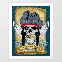 One-Eyed Willy Art Print