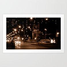Montreal Nights Art Print