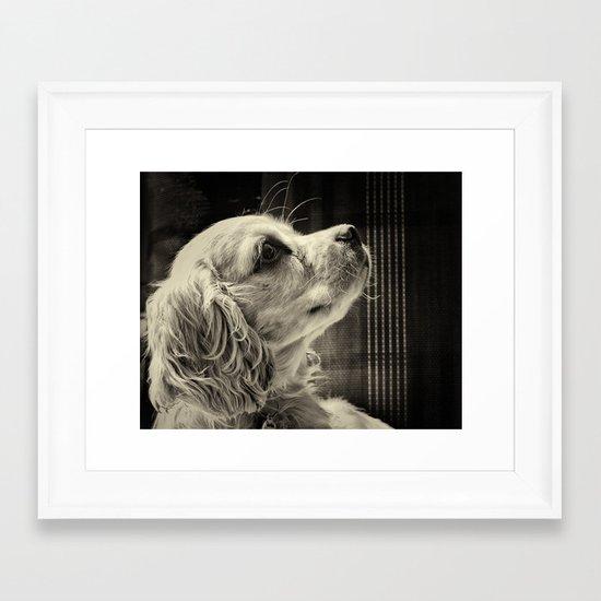Puppy Love Framed Art Print