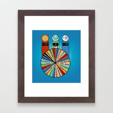 WHEEL OF MISFORTUNE Framed Art Print