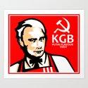KGB FLAVOR Art Print