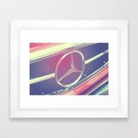Mercedes No.2 Framed Art Print