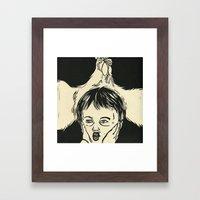 Animal Spirits-Rooster Framed Art Print