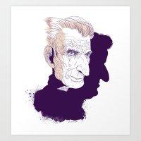 Sam Beckett Art Print