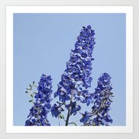 Blue Blue Blue IV Art Print
