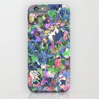 iPhone & iPod Case featuring Flower Explosion by PatternPeople