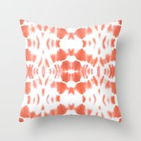 BOHEMIAN TANGERINE Throw Pillow