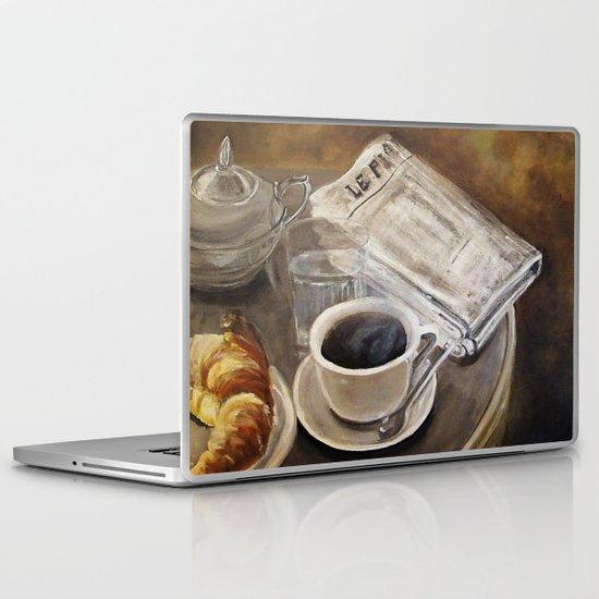Petit déjeuner à Paris Laptop & iPad Skin