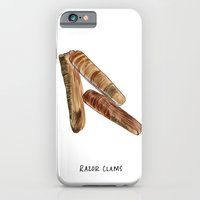R is For Razor Clams iPhone 6 Slim Case