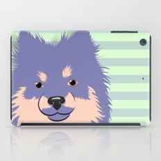 Olie the Pomeranian in Purple iPad Case