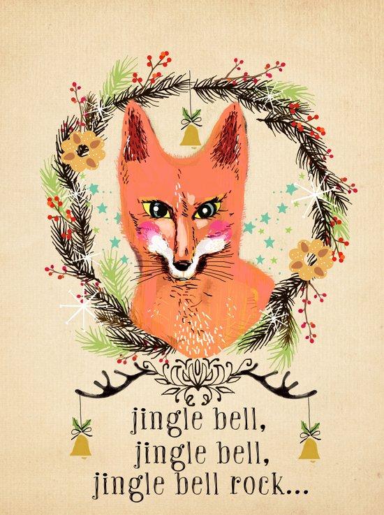 Jinglebell Rock Art Print