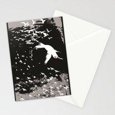 Aflockalypse Wow Stationery Cards