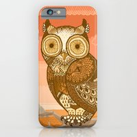 Owlie in Autumn iPhone 6 Slim Case