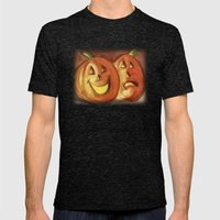 Jack-O-Lanterns Mens Fitted Tee Tri-Black SMALL