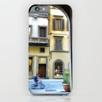 Firenze through a door iPhone 6 Slim Case