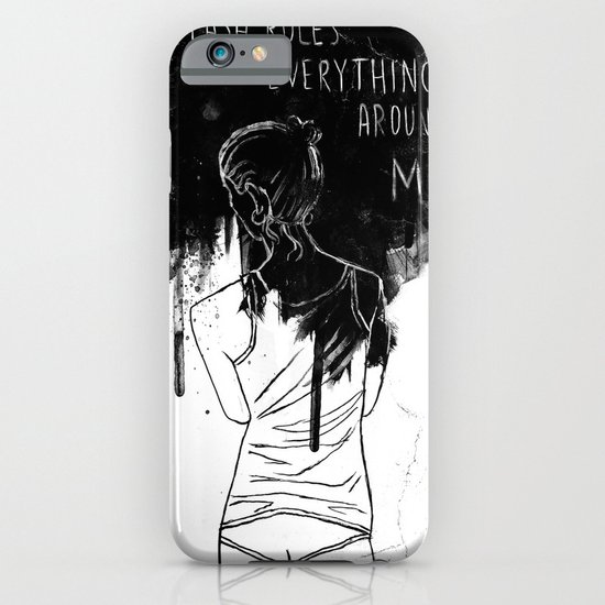Cash Rules iPhone & iPod Case