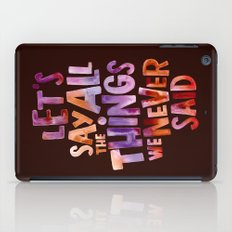 All The Things iPad Case