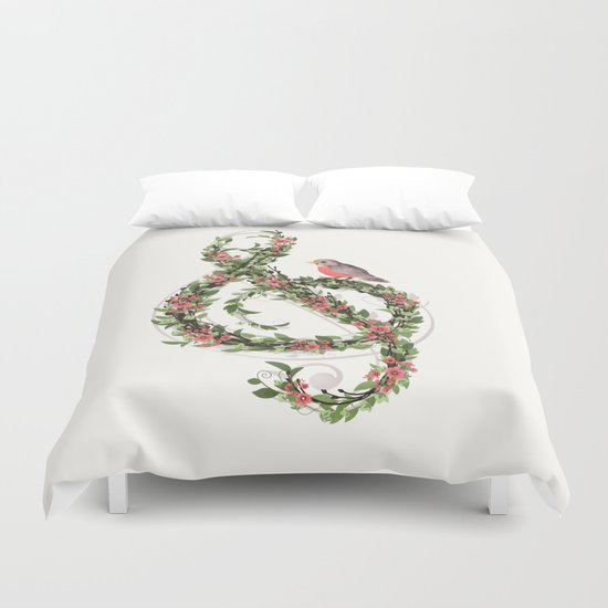 Robin's Song Duvet Cover