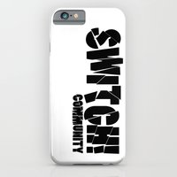 community iPhone & iPod Cases featuring Switch! Community by Nikki Xiao