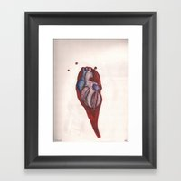 Pinned Framed Art Print