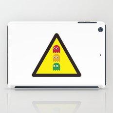 Warning ghosts iPad Case