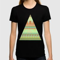Aztec Womens Fitted Tee Black SMALL