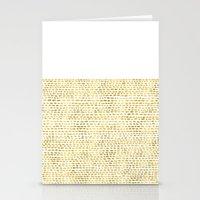 Riverside Gold Stationery Cards