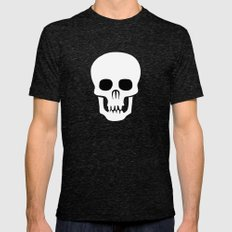 EYE SKULL Mens Fitted Tee Tri-Black SMALL
