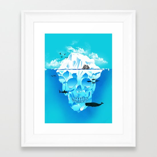 Cold Cruisings and Icy Endings Framed Art Print
